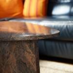 Steinmetz Rose Ilmenau - Tischplatte aus Naturstein