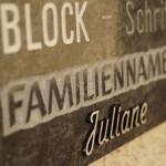 Steinmetz Rose - Grabaufschrift