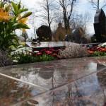 Steinmetz Rose - Grabplatte